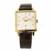 Hamilton Vintage 14k Yellow Gold Watch (Sold as is)