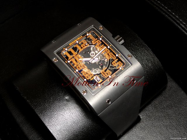 Richard Mille RM16 Ultra Thin Black DLC &amp;#34;Americas 3&amp;#34; Limited 15 Pieces