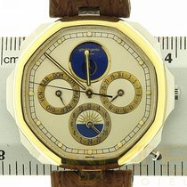 Gérald Genta Maxi Time Moon Phase Calendar Gold 2902 Lapis