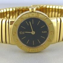 Bulgari Bvlgari Tubogas 18K Solid Yellow Gold