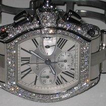 Cartier Roadster XL Chronograph  Diamonds