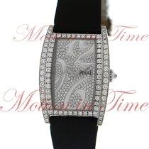 Piaget Limelight Tonneau Large, Diamond Dial, Diamond Case -...