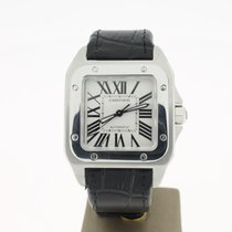 Cartier Santos 100 Med. Size (B&P2009) 33MM
