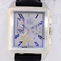 Zenith Port Royal Open Concept Face Silver Chronograph El primero