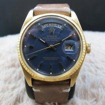 Rolex DAY-DATE 1803 18K Gold with Original Matt Blue Dial