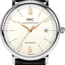 IWC Portofino Automatic 40mm Silver Plated Dial