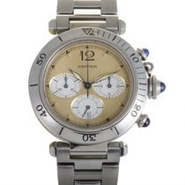 Certified Pre-Owned Cartier Pasha Womens Chronograph Watch...