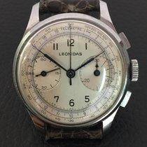 Leonidas Chronograph vintage stainless steel