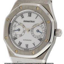 Audemars Piguet Royal Oak Day-Date White Enamel Dial