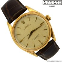 Rolex oyster perpetual 6567 yellow gold 1959's