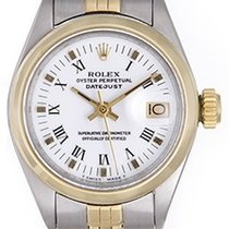 Rolex Date/Datejust Ladies Steel & Gold Automatic Watch 6916