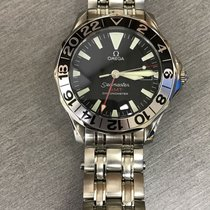 Omega SEAMASTER GMT CHRONOMETER DE ACERO 2234.50 DE HOMBRE.