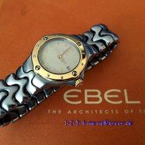 Ebel SportWave Damenuhr Stahl/Gold 18 Karat