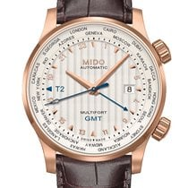 Mido Multifort Two Crowns GMT  M005.929.36.031.00
