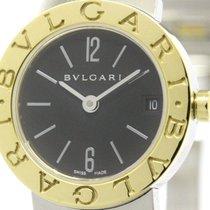 Bulgari Polished  - 18k Gold Steel Ladies Watch Bb23sg (bf100444)