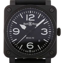 Bell & Ross Aviation 42 Automatic Black Dial
