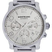 Montblanc 7069 Timewalker Stainless Steel Chronograph Mens Watch