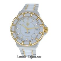 TAG Heuer Mint Ladies   Formula 1 WAH1221 Steel Gold Diamonds...