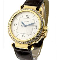 Cartier WJ120351 Pasha 42mm - Diamond Bezel - Yellow Gold on...