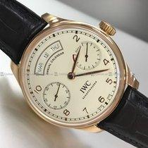 IWC - Annual Calendar Automatic White Dial R/G