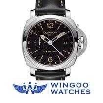 Panerai LUMINOR 1950 3 DAYS GMT 24H AUTOMATIC ACCIAIO - 44MM...