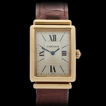 Cartier Tank Bi Plan Love Special Edition 18k Yellow Gold Ladies