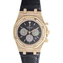 Audemars Piguet Royal Oak Chronograph with Diamonds in Rose Gold