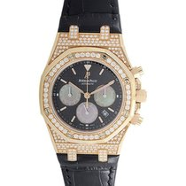 Audemars Piguet Royal Oak Chronograph with Diamonds in Rose Gold