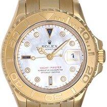 롤렉스 (Rolex) Lady Yacht-Master 18K Ladies Watch 169628 Mop...