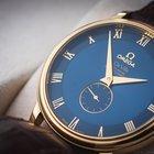 Omega de Ville co-axial cosc 18k gold