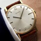 Doxa Watch in 14 carat Solid Gold 14ct 18kt vollgold