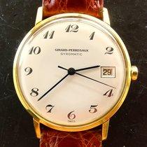 Girard Perregaux GYROMATIC Gelb Gold 18K 750 Vintage Automatik...