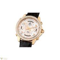 Jacob & Co. Five Time Diamonds ZoneYellow Gold Leather...