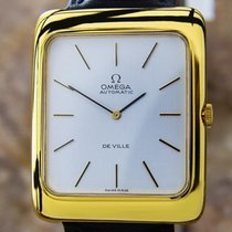 Omega Deville Mens Swiss Made Automatic Dress Watch Circa 1990...