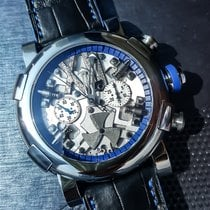 Romain Jerome Titanic DNA Steampunk Chrono Blue LTD 99