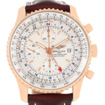 Breitling Navitimer World Rose Gold Limited Edition Mens Watch...