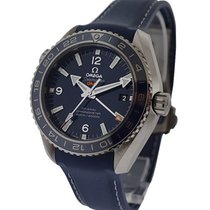Omega 232.32.44.22.03.001 Seamaster Planet Ocean GMT in Steel...
