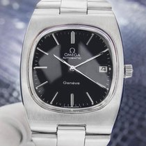 Omega Vintage Swiss Omega Geneve Stainless Steel Men's...