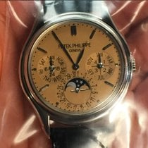 Patek Philippe 3940G with extremely rare Salmon dial