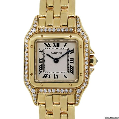Cartier Gold Panthere Watch Cartier Panthere 18k Gold