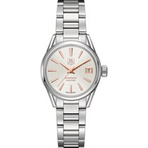 TAG Heuer Calibre 9 Automatic Watch 28mm - Silver with azurage...