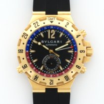 Bulgari Yellow GOld Diagono Professional GMT Ref. GMT40G