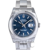 Rolex Datejust Steel Blue/Steel Ø36 mm - 116200