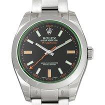 勞力士 (Rolex) Milgauss GV Black Dial Green Crystal Mens Watch...