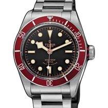 Tudor Heritage Black Bay 79220R-95740 Black Index Stainless...