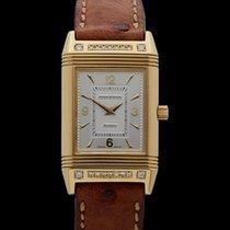 Jaeger-LeCoultre Reverso Classique Art Deco Diamonds 18K...