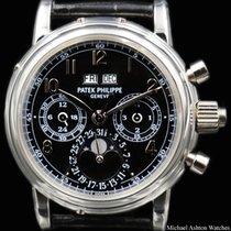 Patek Philippe Ref# 5004P Perpetual Split Chronograph Black...