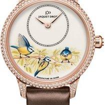 Jaquet-Droz Petite Heure Minute Enamel Blue Birds