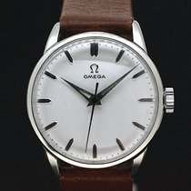 Omega Handaufzug White Dial Kaliber 285 von 1960