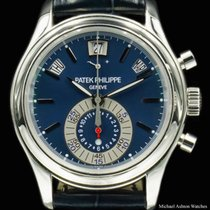 Patek Philippe Ref# 5960P Chronograph Blue Dial